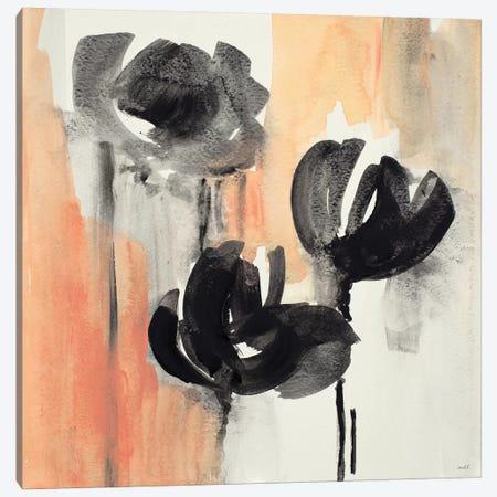 Blushing Tulips I Canvas Print #LNL283} by Lanie Loreth Art Print