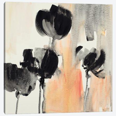 Blushing Tulips II Canvas Print #LNL284} by Lanie Loreth Canvas Artwork