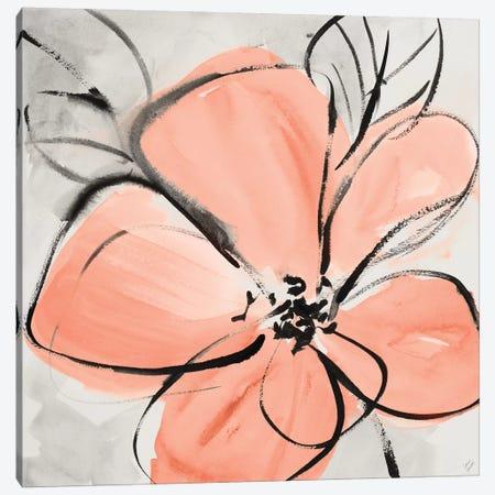 Cafe Rose III Canvas Print #LNL290} by Lanie Loreth Canvas Artwork