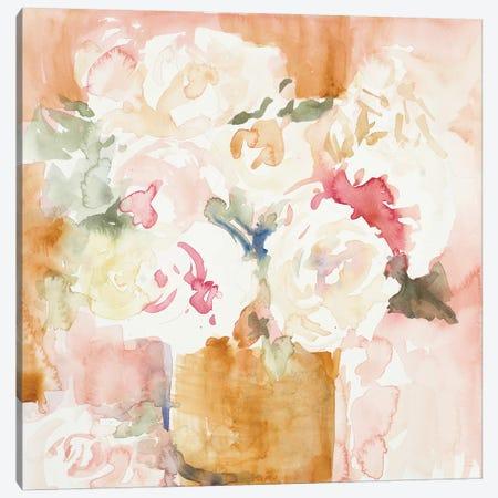 Cascading Blooms II Canvas Print #LNL294} by Lanie Loreth Canvas Art Print