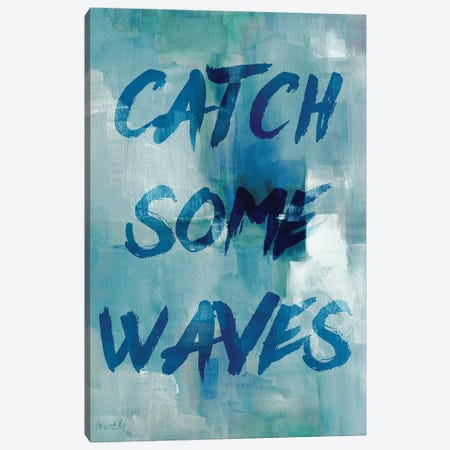 Blue Waves I Canvas Print #LNL29} by Lanie Loreth Canvas Print