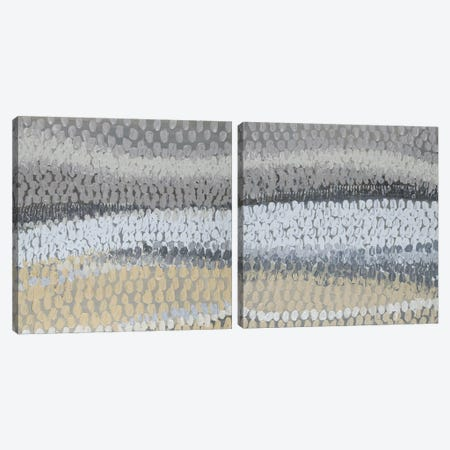 Modern Harvest Abstract Diptych Canvas Print Set #LNL2HSET002} by Lanie Loreth Canvas Art Print