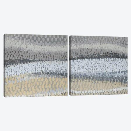 Modern Harvest Abstract Diptych Canvas Print Set #LNL2HSET002} by Lanie Loreth Canvas Art Print