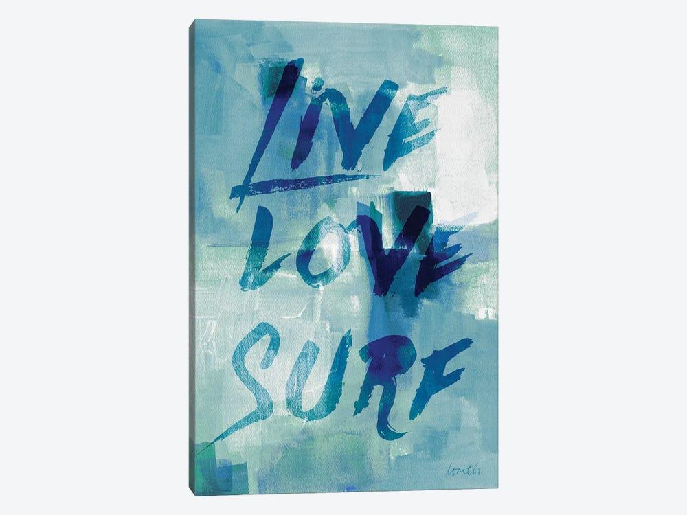 Blue Waves II by Lanie Loreth 1-piece Canvas Artwork