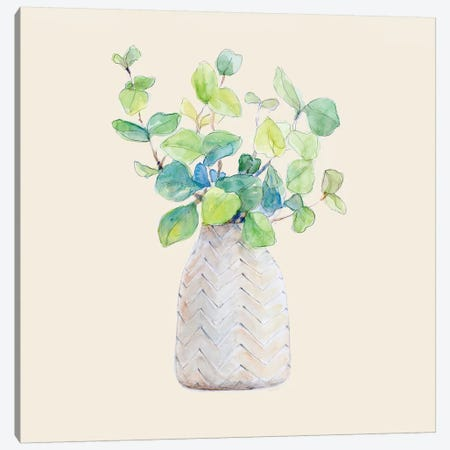 Decorative Potted Plant III Canvas Print #LNL316} by Lanie Loreth Canvas Artwork