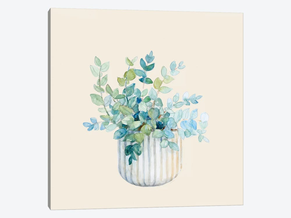 Decorative Potted Plant IV by Lanie Loreth 1-piece Canvas Wall Art