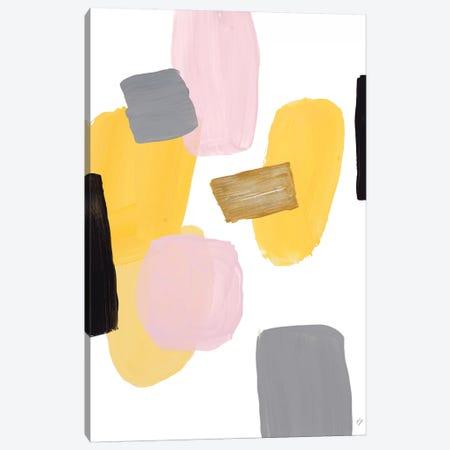 Floating Shapes I Canvas Print #LNL320} by Lanie Loreth Canvas Artwork