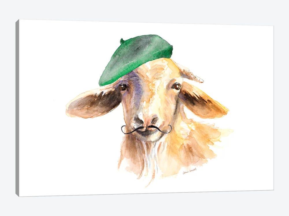 French Goat by Lanie Loreth 1-piece Canvas Art Print