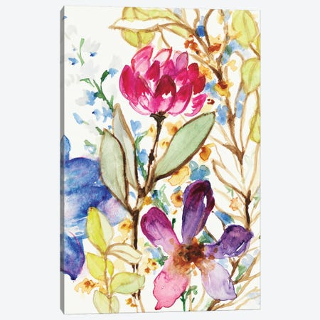 Garden Delight Canvas Print #LNL331} by Lanie Loreth Art Print