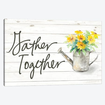 Gather Together Canvas Print #LNL332} by Lanie Loreth Canvas Art Print