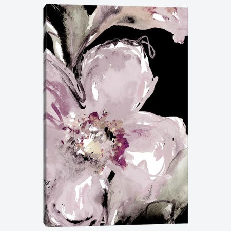 Happy Bloom On Black I Canvas Print #LNL338} by Lanie Loreth Canvas Print