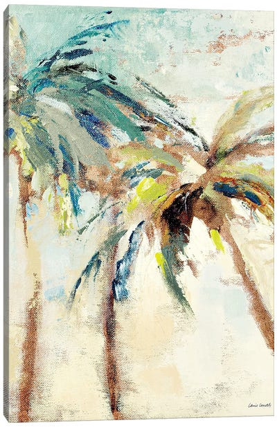 Bright Island Morning I Canvas Art Print