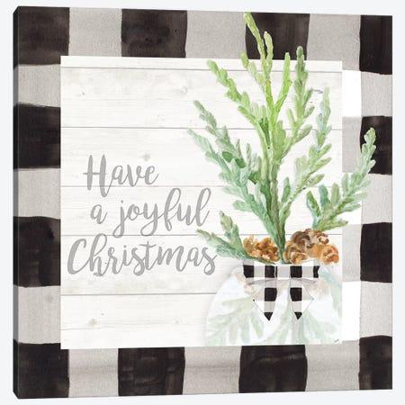 Joyful Christmas Canvas Print #LNL353} by Lanie Loreth Canvas Print