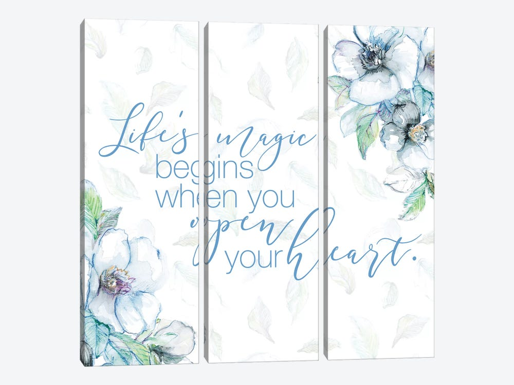 Life Magic by Lanie Loreth 3-piece Canvas Art Print