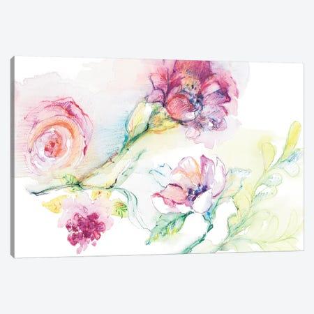 Light And Breezy Florals II Canvas Print #LNL358} by Lanie Loreth Canvas Print