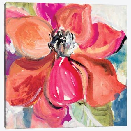 LivIng Coral Magnolia Canvas Print #LNL359} by Lanie Loreth Canvas Print