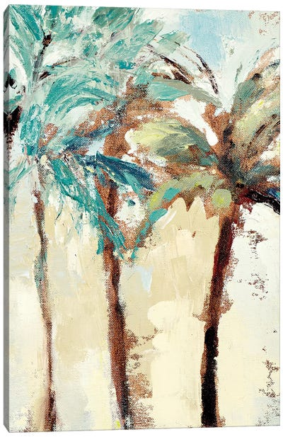 Bright Island Morning II Canvas Art Print