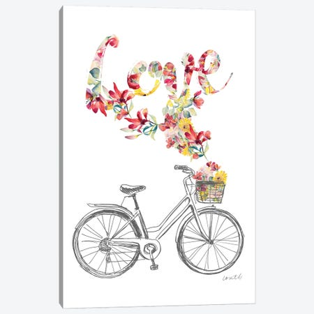 Love & Peace I Canvas Print #LNL362} by Lanie Loreth Canvas Wall Art