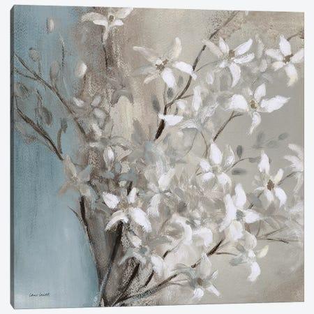 Misty Orchids (Blue) II Canvas Print #LNL370} by Lanie Loreth Art Print