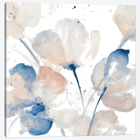 Natural Flower I 3-Piece Canvas #LNL373} by Lanie Loreth Canvas Print
