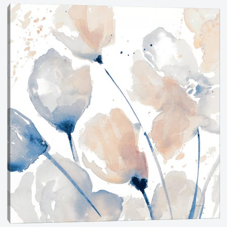 Neutral Flower II Canvas Print #LNL374} by Lanie Loreth Canvas Art