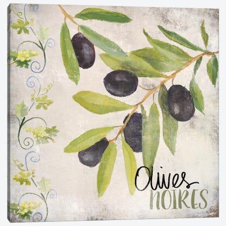 OlIVes Noires Canvas Print #LNL378} by Lanie Loreth Art Print