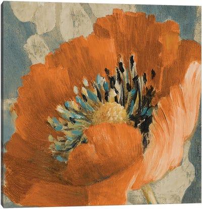 Orange Poppy Canvas Art Print