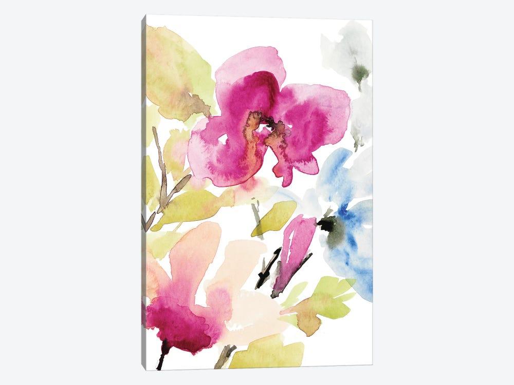 Peaceful Florals II by Lanie Loreth 1-piece Canvas Print