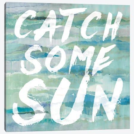 Catch Some Sun Canvas Print #LNL38} by Lanie Loreth Canvas Art