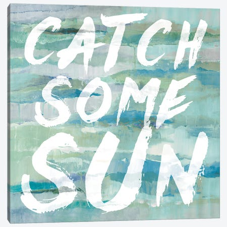 Catch Some Sun Canvas Print #LNL38} by Lanie Loreth Canvas Art