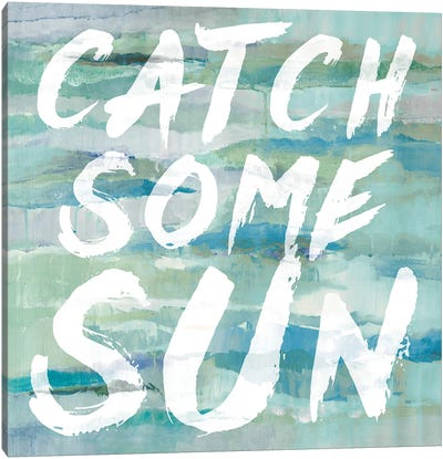 Catch Some Sun Canvas Art Print
