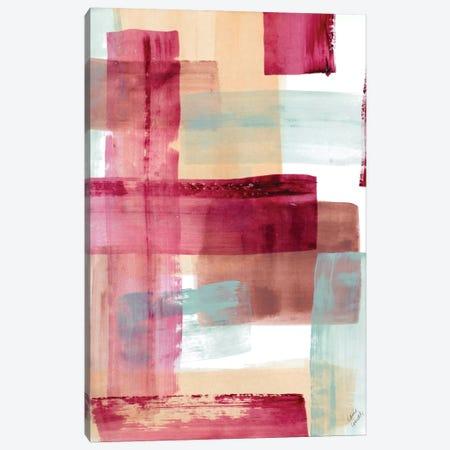 Rose And Peach I Canvas Print #LNL395} by Lanie Loreth Canvas Art