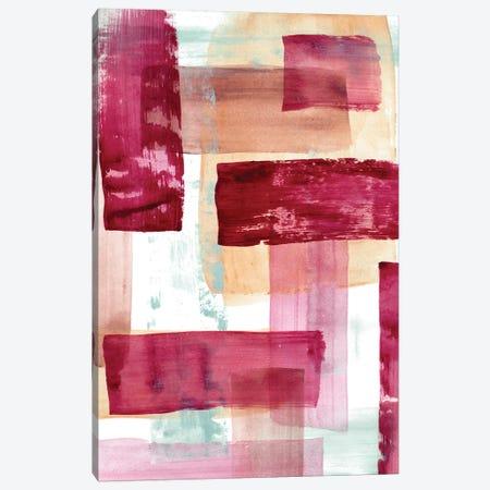 Rose And Peach II Canvas Print #LNL396} by Lanie Loreth Canvas Artwork