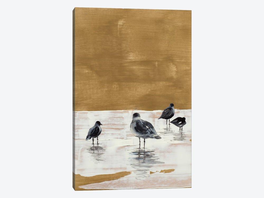Seagulls Chillin' by Lanie Loreth 1-piece Canvas Wall Art