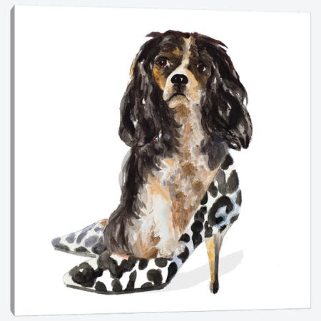 Shoe Lovers Canvas Print #LNL404} by Lanie Loreth Canvas Wall Art