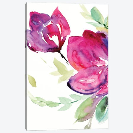 Spring Rhapsody II Canvas Print #LNL409} by Lanie Loreth Canvas Art Print