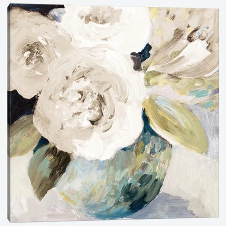 Spring Roses Canvas Print #LNL410} by Lanie Loreth Canvas Wall Art