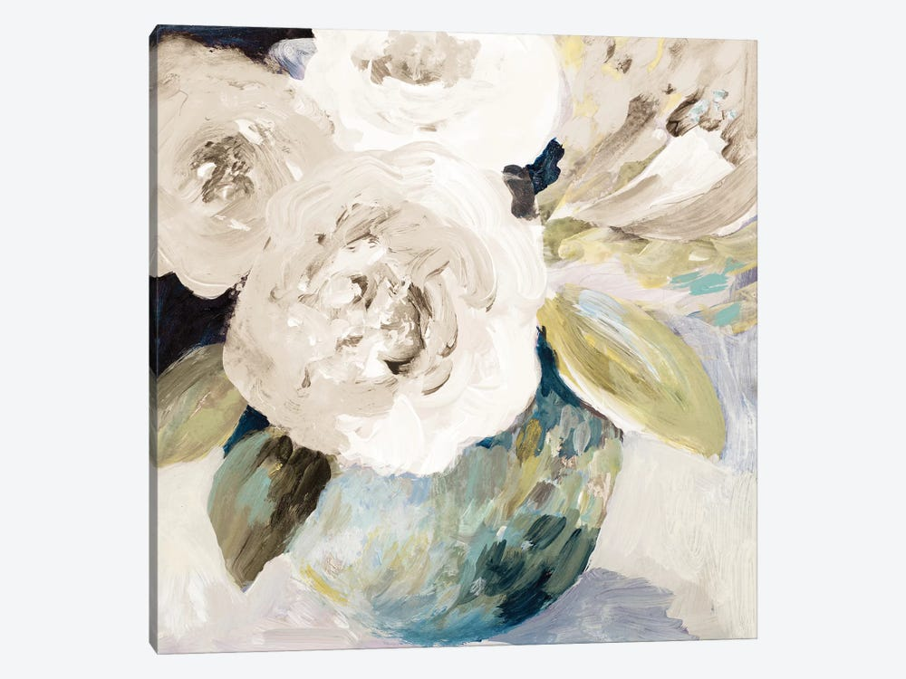 Spring Roses by Lanie Loreth 1-piece Canvas Artwork