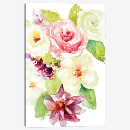 Summer Blooms Canvas Print #LNL414} by Lanie Loreth Canvas Art Print