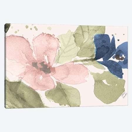 Watercolor Blooms II Canvas Print #LNL426} by Lanie Loreth Canvas Art
