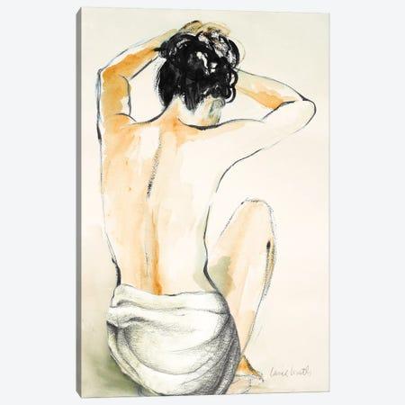 Woman Sitting I Canvas Print #LNL428} by Lanie Loreth Art Print