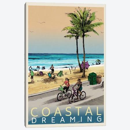 Coastal Dreaming Canvas Print #LNL438} by Lanie Loreth Canvas Artwork