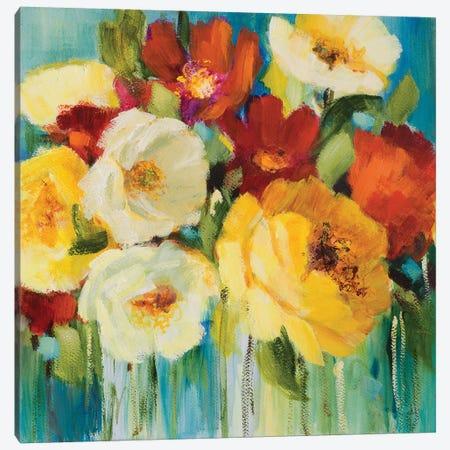 Flower Power I Canvas Print #LNL442} by Lanie Loreth Canvas Print