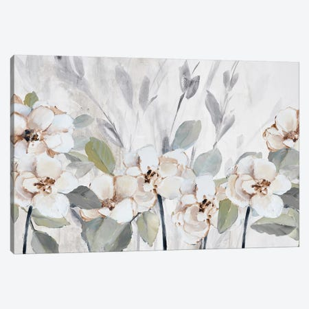 Garden Fleurs Canvas Print #LNL445} by Lanie Loreth Canvas Art