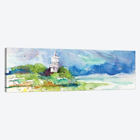 Lighthouse on Coastline Canvas Print #LNL453} by Lanie Loreth Canvas Art
