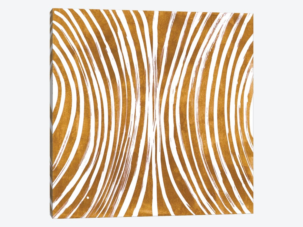 Lines Meet Curves I by Lanie Loreth 1-piece Canvas Wall Art