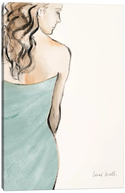 Contemplative Woman I Canvas Art Print