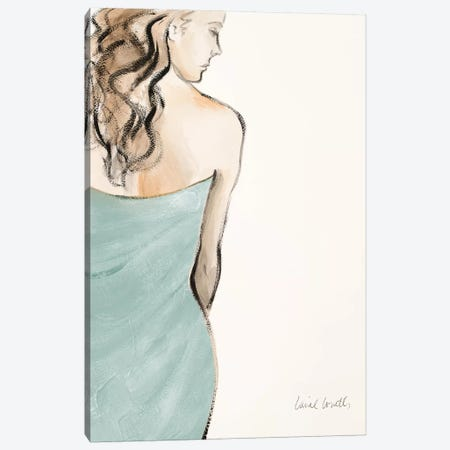 Contemplative Woman I Canvas Print #LNL45} by Lanie Loreth Canvas Art