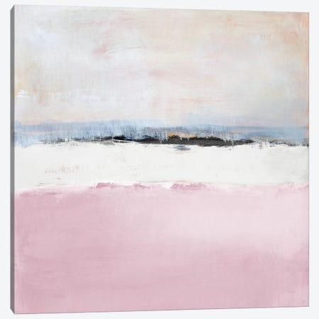 Pink Sea Canvas Print #LNL467} by Lanie Loreth Canvas Artwork