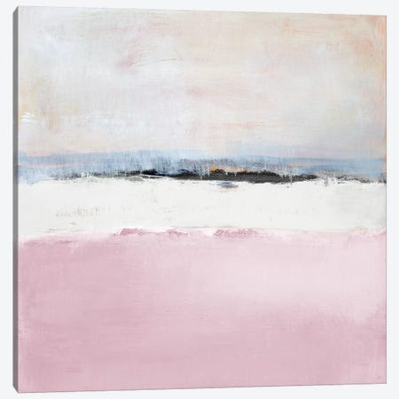 Pink Sea Canvas Print #LNL467} by Lanie Loreth Canvas Artwork